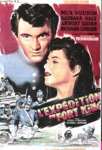 affiche  L'Expdition du Fort King 40482