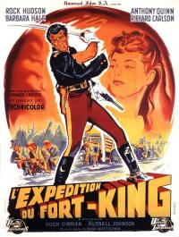 affiche  L'Expdition du Fort King 40480